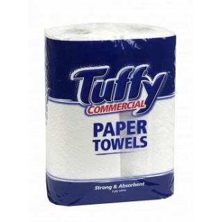 Tuffy Commercial 2ply Twin Pack 12's
