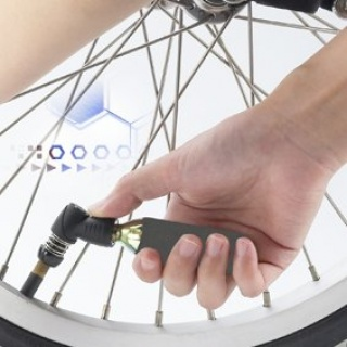Mini Tyre Inflator with 16g Cartridge